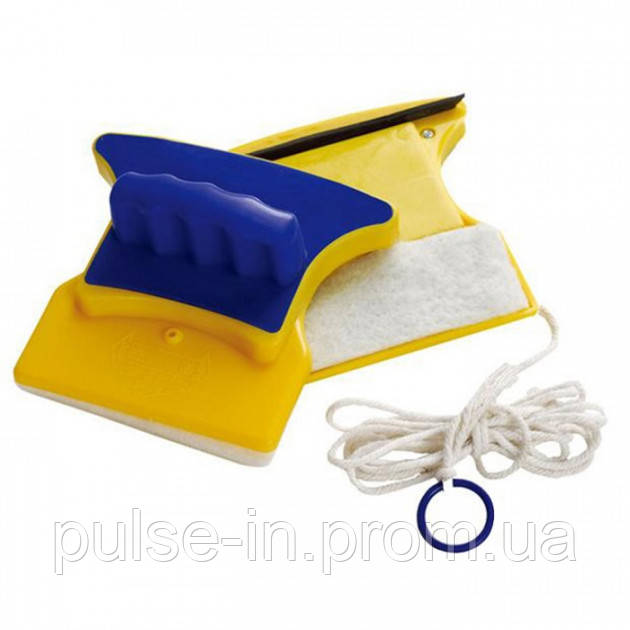 Магнитная щетка для мытья окон Glass Wiper UTM с двух сторон