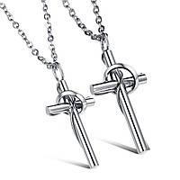 """Парные кулоны """"Хранители веры"""" в виде крестиков, фото 1"""
