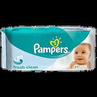 Детские влажные салфетки Pampers Baby Fresh Clean 64шт