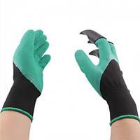 Садовые перчатки с когтями Garden UTM Gloves