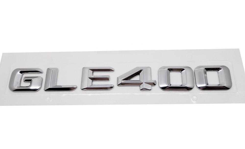 Хромированная Эмблема Шильдик надпись GLE400 Мерседес Mercedes