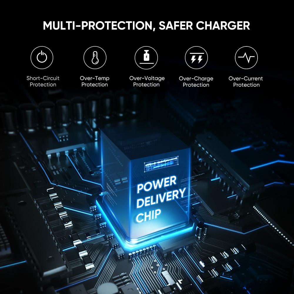 Зарядное устройство Ugreen Qualcomm Quick charge 4.0 Power Delivery 3.0 20W (CD137), фото 7