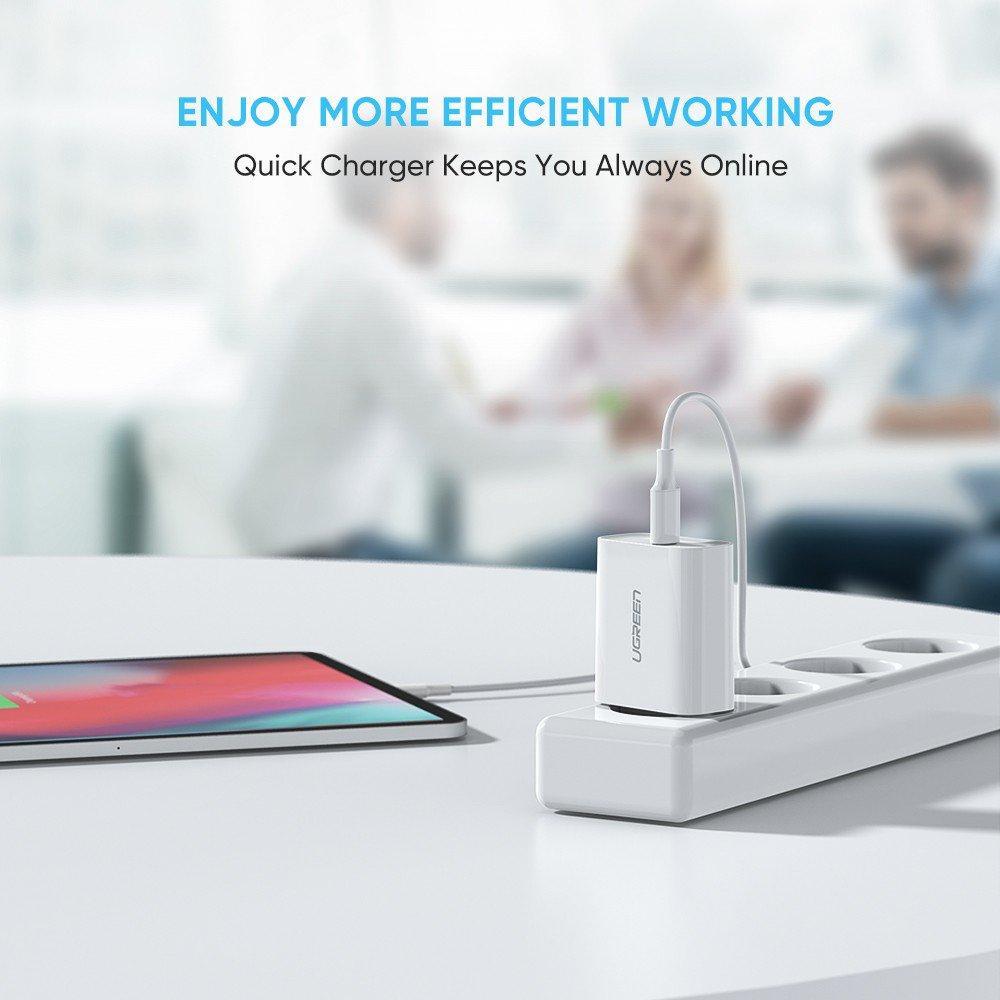 Зарядное устройство Ugreen Qualcomm Quick charge 4.0 Power Delivery 3.0 20W (CD137), фото 8