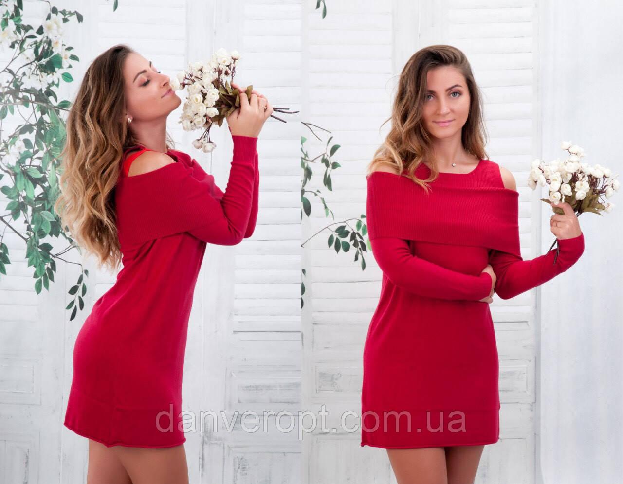 Платье женское стильное яркое размер универсальный 44-50 купить оптом со склада 7км Одесса