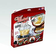 Складная решетка для приготовления пищи Chef Basket (Шеф Баскет), фото 1