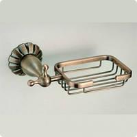 Мыльница-решетка подвесная BADICO 8932 бронза