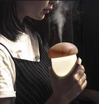 Увлажнитель воздуха - ночник, humidifier Гриб (разные цвета), фото 3