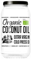 Кокосовое масло 1л холодного отжима нерафинир