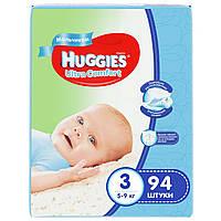 Подгузники Huggies Ultra Comfort для мальчиков 3 (5-9 кг) Giga Pack 94 шт.