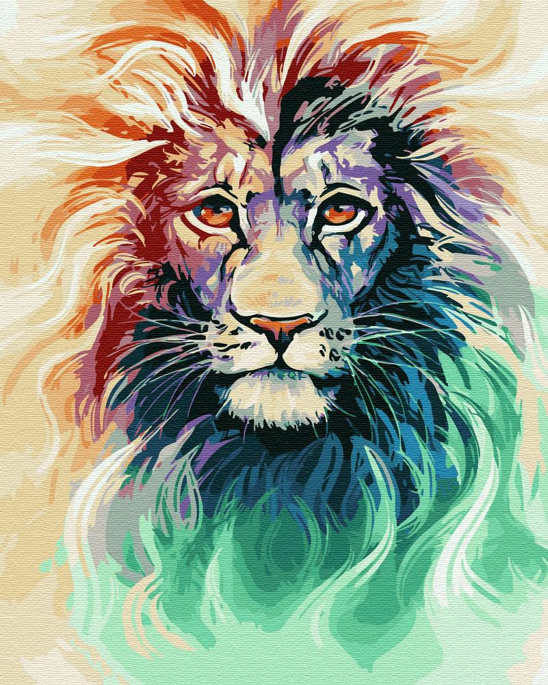 Живопись по номерам Акварельный лев (BRM28718) 40 х 50 см