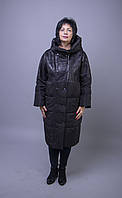Женский пуховик пальто FIRENIX A102-1