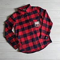 ✅Рубашка для девочки Рубашка в клетку для девушки подростка 140 152