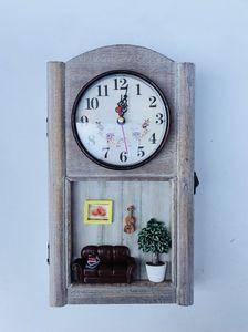 Podarki Ключница настенная с часами Гармония, фото 2