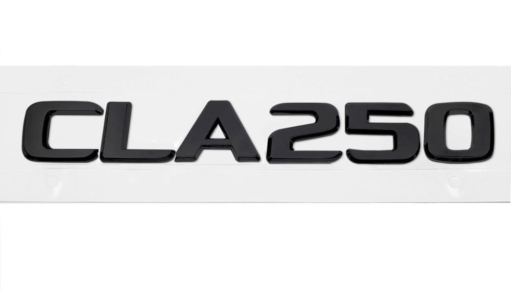Матовая Эмблема Шильдик надпись CLA250 Мерседес Mercedes