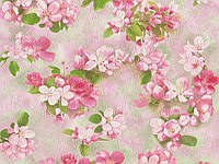 Обои виниловые супер мойка Сакура 5696-04 розовый