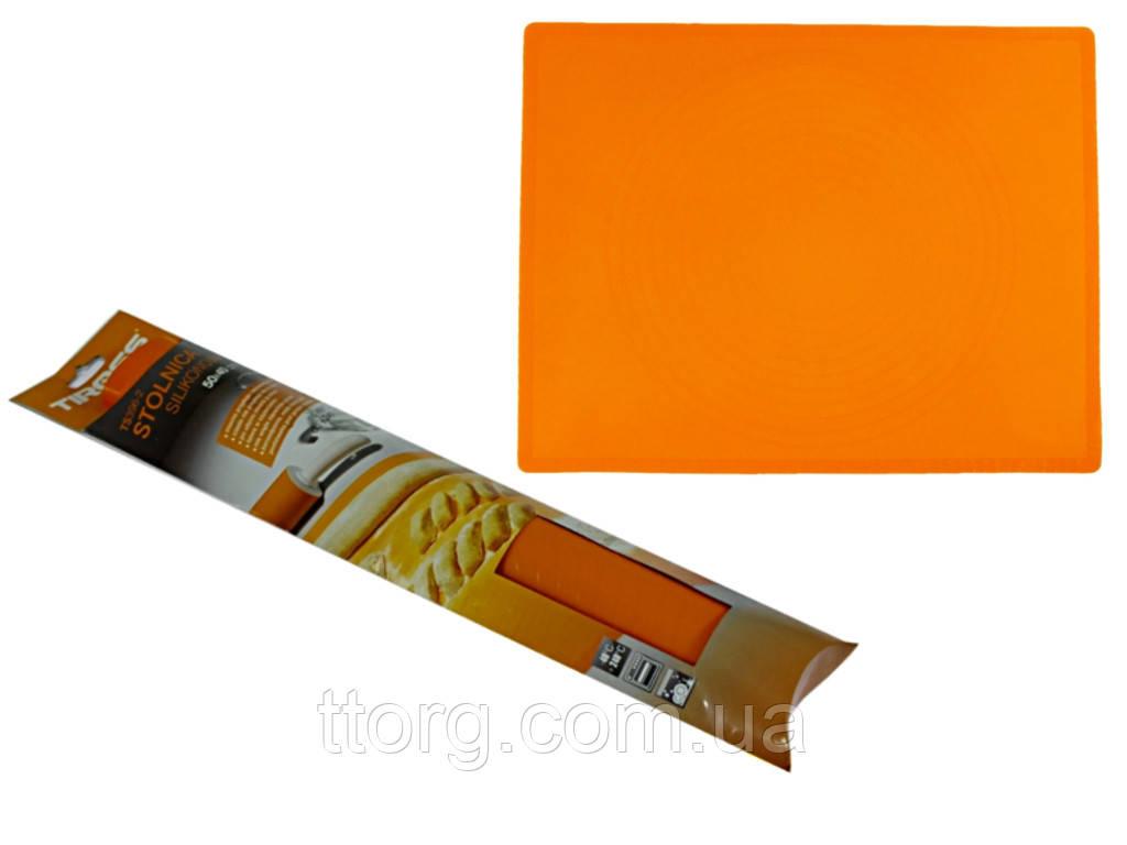 Коврик кондитерский силиконовый Tiross TS-396-2 50x40 см
