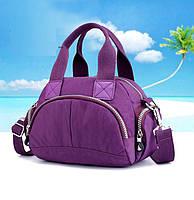 Сумка нейлоновая Jinquaer фиолетовая 2014/05, фото 1
