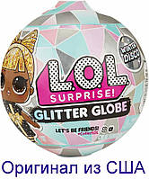 Кукла ЛОЛ Серия Зимнее диско L.O.L. Surprise! Glitter Globe Doll Winter Disco Series with Glitter Hair 561613