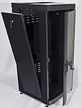 """Шкаф 19 """" 28U , 610 х 675 мм ( Ш * Г ) , черный, фото 3"""