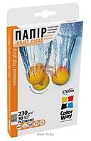 Для печати CW бумага глянцевая 230г/м, 10х15 PG230-50 карт.уп.