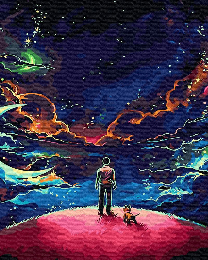 Рисование по номерам Наедине со Вселенной (BRM30081) 40 х 50 см