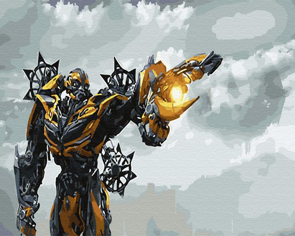 Картина раскраска Трансформеры (BRM30110) 40 х 50 см