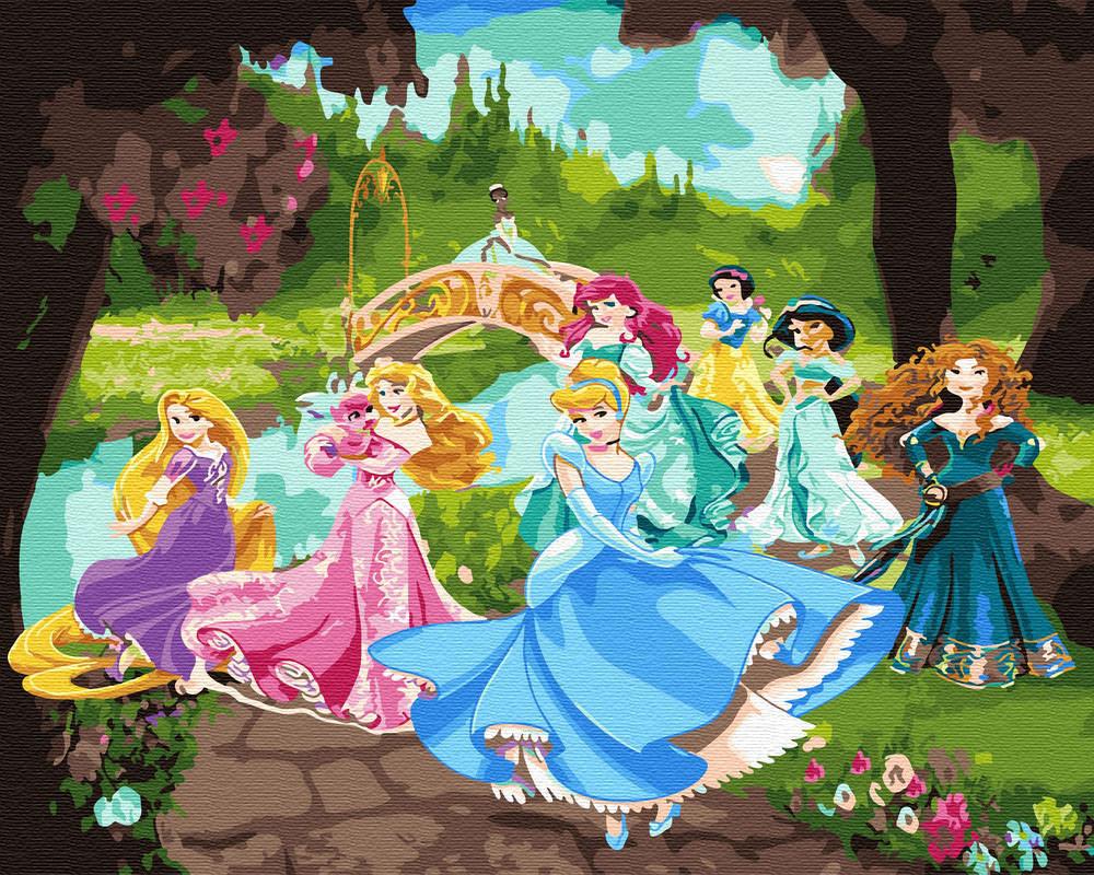 Картина по номерам Танец принцесс (BRM30116) 40 х 50 см
