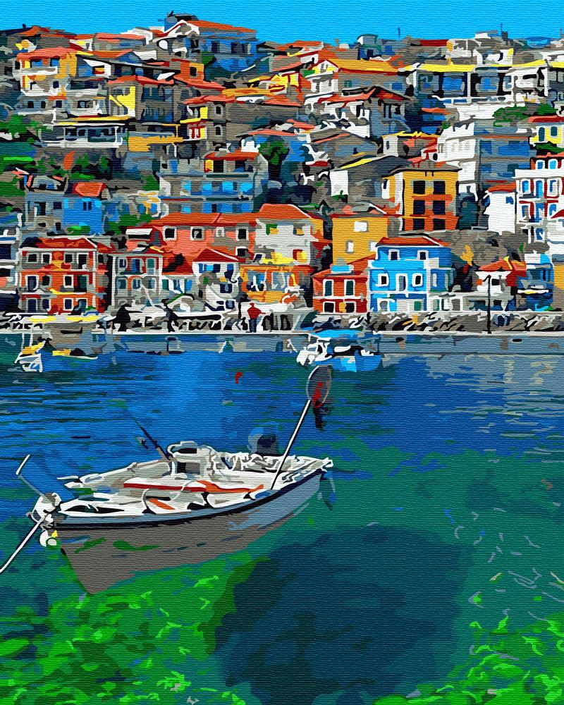 Картина по номерам Берег Греции (BRM30157) 40 х 50 см