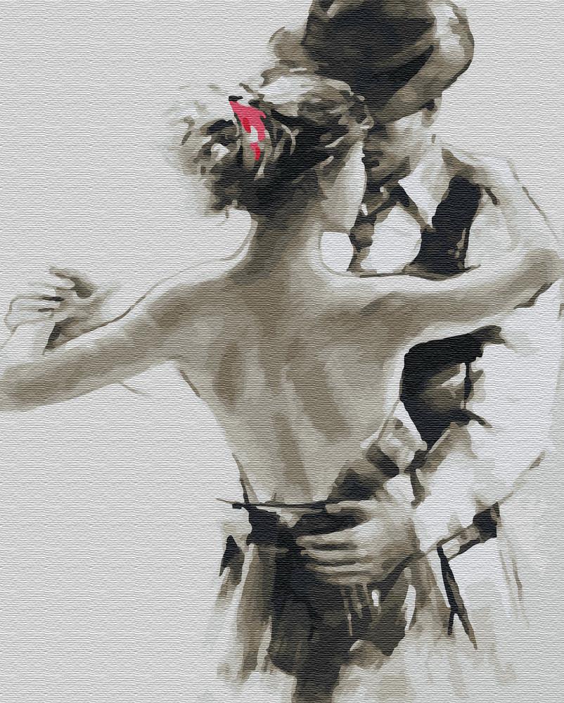 Картина по цифрам Танец влюбленных (BRM25761) 40 х 50 см Brushme
