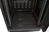 """Шкаф 19 """" 28U , 610 х 675 мм ( Ш * Г ) , черный, фото 5"""