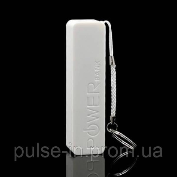 Портативное зарядное устройство PowerBank 2600 Белый