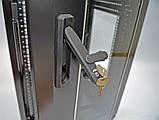 """Шкаф 19 """" 28U , 610 х 675 мм ( Ш * Г ) , черный, фото 8"""