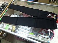 Лосины детские черные р.134 -164см