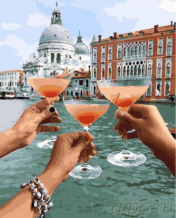 Картина по номерам Уикенд в Венеции (BRM28159) 40 х 50 см Brushme