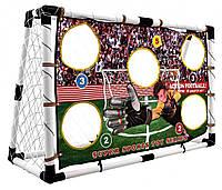 Футбольные ворота с екраном He Fu HF548