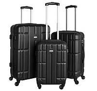Набор чемоданов Showkoo 3в1 5902802912176 3 шт. черные