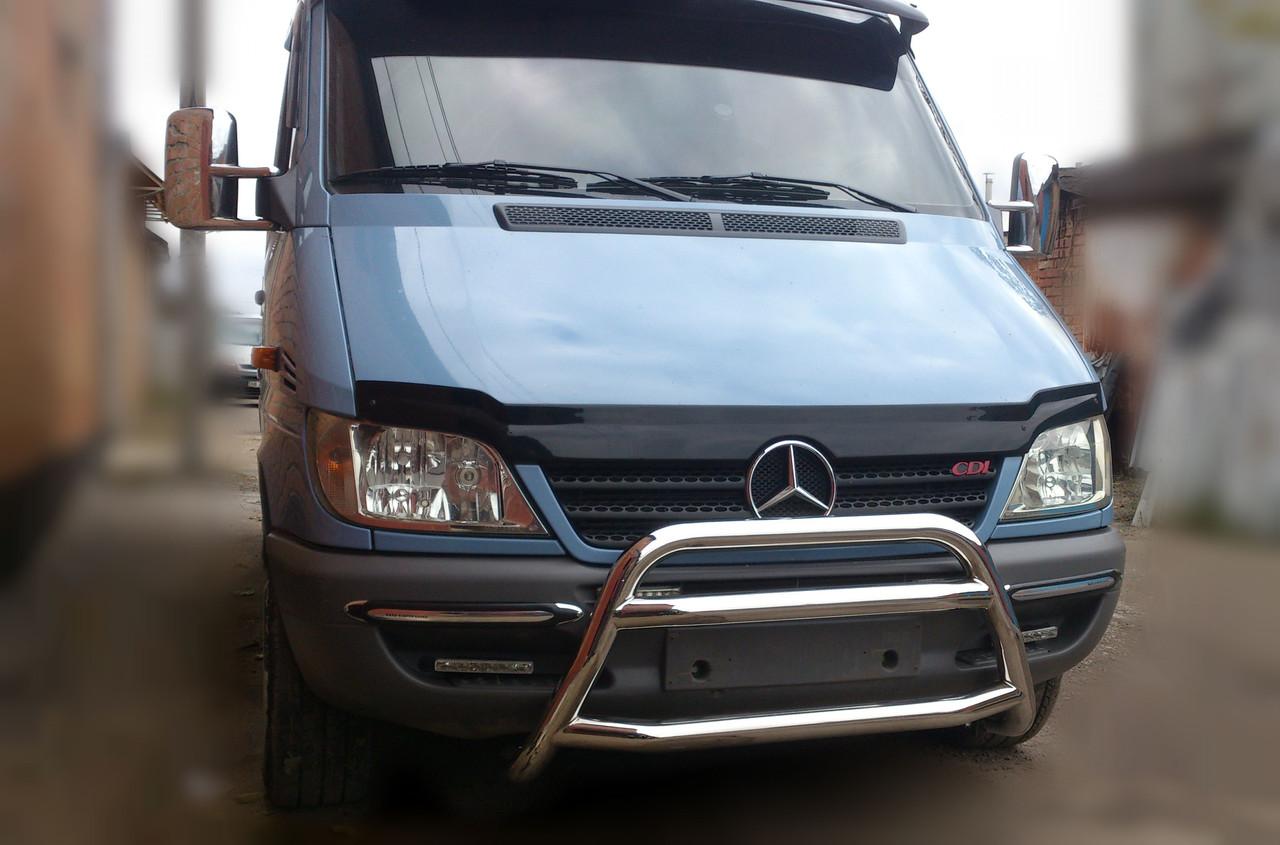Защита переднего бампера (кенгурятник) Mercedes Sprınter 1995-2000