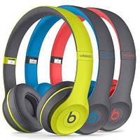 Беспроводные наушники Monster Beats By dr.dre Studio TM-019 с Bluetooth, MP3 и FM синий