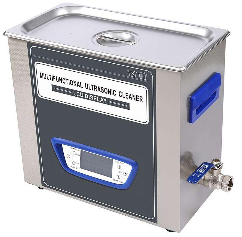Ультразвуковая ванна Jeken TUC-45  (4Л, 180Вт, 40 кГц, подогрев 60°C, таймер 1-99мин., спуск жидкости)