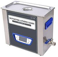 Ультразвуковая ванна Jeken TUC-45  (4Л, 180Вт, 40 кГц, подогрев 60°C, таймер 1-99мин., спуск жидкости), фото 1