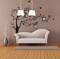 Интерьерная наклейка семейное дерево  (118х88см)