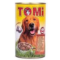 Консервы для собак Tomi, 3 вида птицы, банка, 1.2кг
