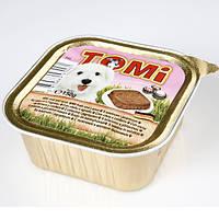 Консервы для собак Tomi, с ягненком и телятиной, 0.15кг