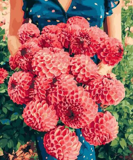 Картина по номерам Цветы для тебя (BRM29261) 40 х 50 см Brushme