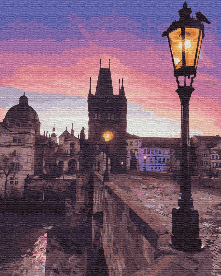 Картина по номерам Карлов мост (PGX29708) 40 х 50 см Brushme Premium