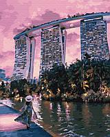 Рисование по номерам Вечер в Сингапуре (PGX29745) 40 х 50 см Brushme Premium