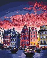 Раскраска по цифрам Каникулы в Стокгольме (KH3558) 40 х 50 см Идейка