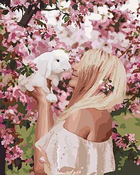Картина по номерам Весенняя нежность (KH4616) 40 х 50 см Идейка