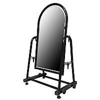 Зеркало напольное металлическое обувное 35 см