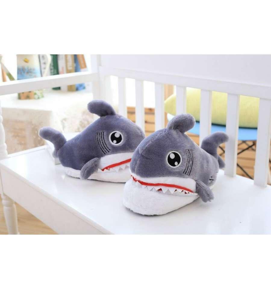 Домашние тапочки Акулы